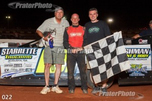 Casey Roberts tames 140mph Rome Speedway!