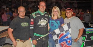 Clanton cruised to WoO victory at Stateline Speedway 1.194 seconds ahead of the field!