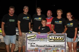 Roberts takes Capital Race Cars to Victory Lane at Dublin Speedway ULTIMATE Series Event!