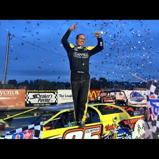 Shane victory lane Fonda NY