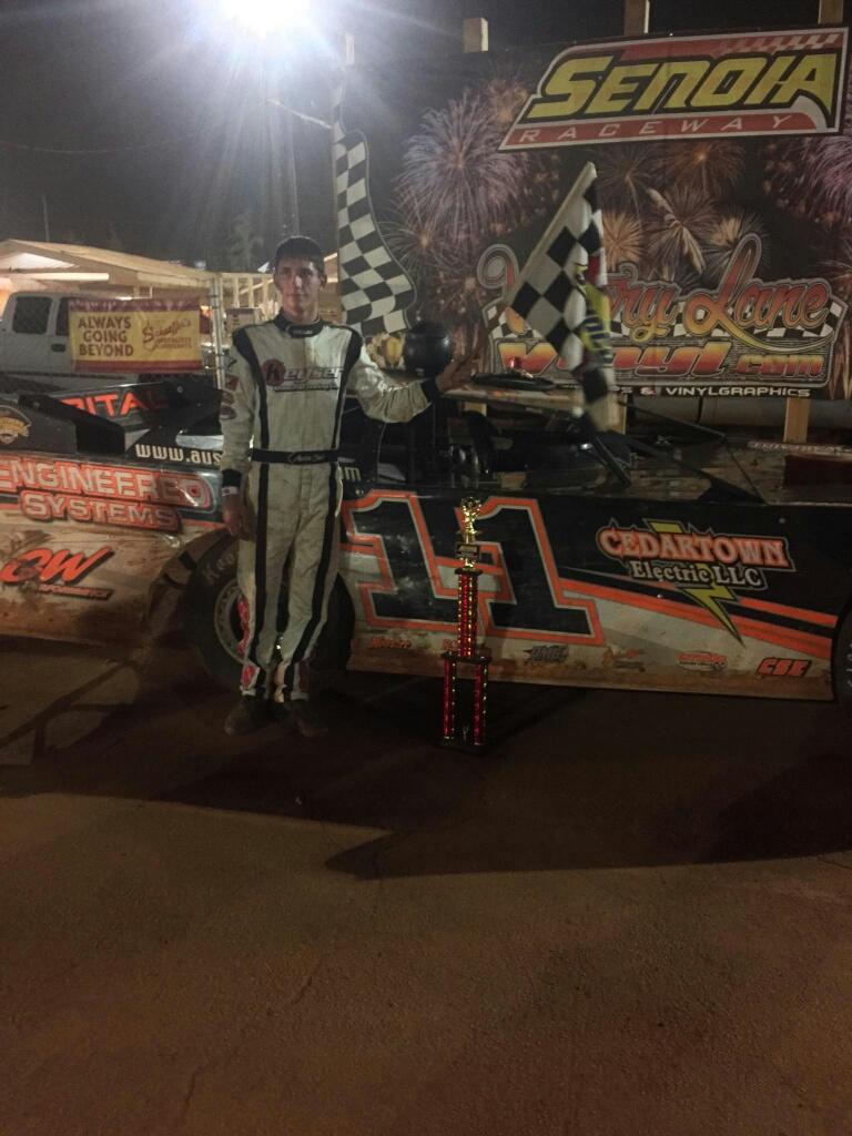 Austin Smith wins Senoia